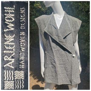 ARLENE WOHL knit vest